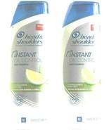 2 Head & Shoulders Instant Oil Control Mango & Citrus Dandruff Shampoo 1... - $27.99