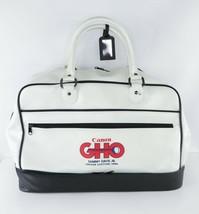 Vintage 80s Canon GHO Sammy Davis Jr Golf Open Handled Leather Weekender... - $62.32