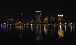 The skyline of Orlando, Fl at Night   Photo   Color Print   (Free Shipping) - $2.99