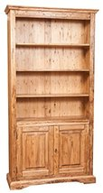 Biscottini Solid Lime Wood Natural Finish W108XDP38X211 cm Sized Bookcase. Made  - $2,105.17