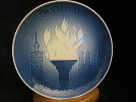 1972 OLYMPICS collector plate BING & GRONDAHL Munich Germany FIRST EDITION - $19.99