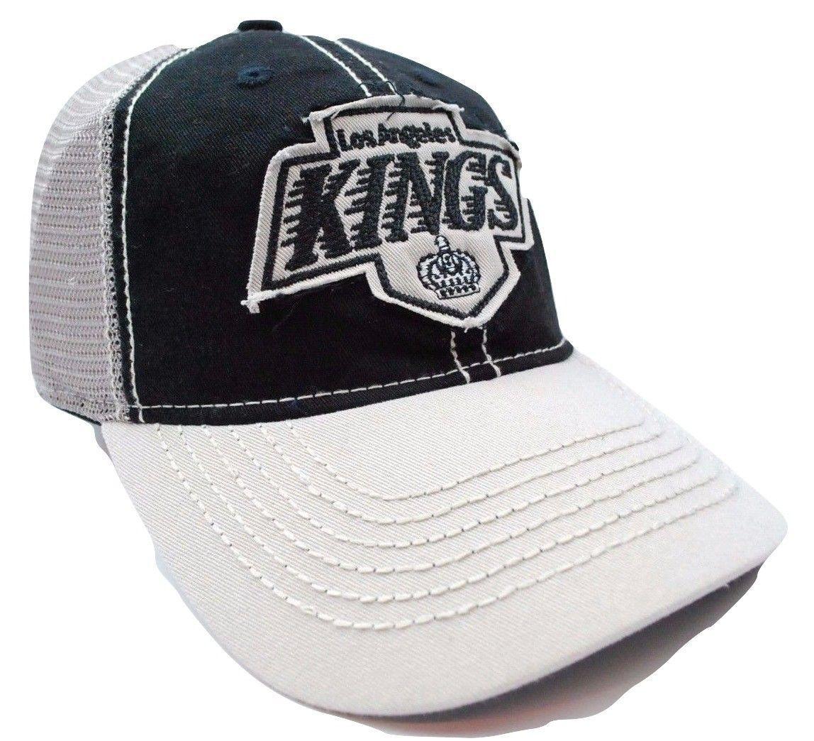 brand new 832b5 af8a6 Los Angeles Kings LA Kings EU26Z NHL Hockey Team Relaxed Fit Trucker Cap Hat