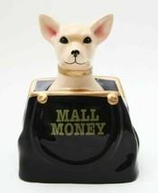 "CHIHUAHUA IN PURSE MALL MONEY BANK 8""H CERAMIC FIGURINE WORLD CUTEST - $27.99"