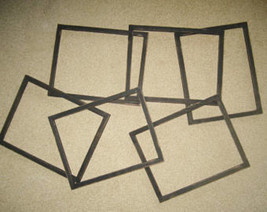 Distressed 8x10 picture frames, lot of 6 - $54.45