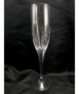 "Mikasa Arctic Lights Champagne Flute 10-3/4"" Glass 8 oz Vertical Cut XY701 - $21.53"