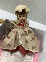 Madame Alexander Doll  Betsy Ross  #312 1990 with material and scissors - $28.01