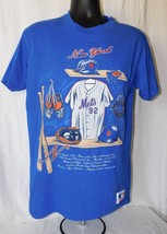 Vintage Men's 90's MLB New York Mets T-Shirt By Nutmeg Mills