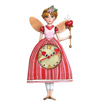 Allen Designs Princess Pixie Pendulum Child's Kids Whimsical Wall Clock - $56.00