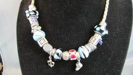 Pandora Lot 925 ALE 19 Beads Dangle, Jems, & 1 Necklace 100% Authentic - $970.00