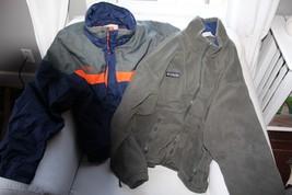 Columbia Jacket 3 in 1 Coat Bugaboo Men's Large Ski Winter Fall Windbreaker - $44.55