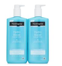 2x Neutrogena Hydro Boost Hyaluronic Acid Normal to Dry Body Gel Cream 16 oz Ea - $26.72