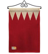 Bahrain Burlap - Impressions Decorative Metal Wall Hanger Garden Flag Se... - $33.97