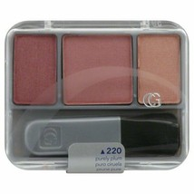 COVERGIRL INSTANT CHEEK BONES BLUSH PURELY PLUM 220 NEW SEALED  - $2.99