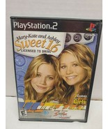Mary-Kate and Ashley Sweet 16 Licensed to Drive Video Game for Playstati... - $9.28
