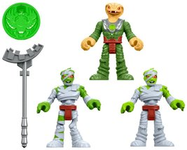 "Fisher Price Imaginext Mummy Guards Figures 2.5"" - $29.99"