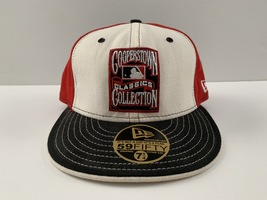 New Era Boston Red Sox Cooperstown Classics Collection Fitted Cap 7-1/4 ... - ₹1,100.13 INR