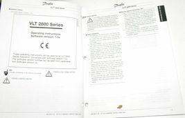 DANFOSS VLT 2800 OPERATING INSTRUCTIONS MANUAL image 3