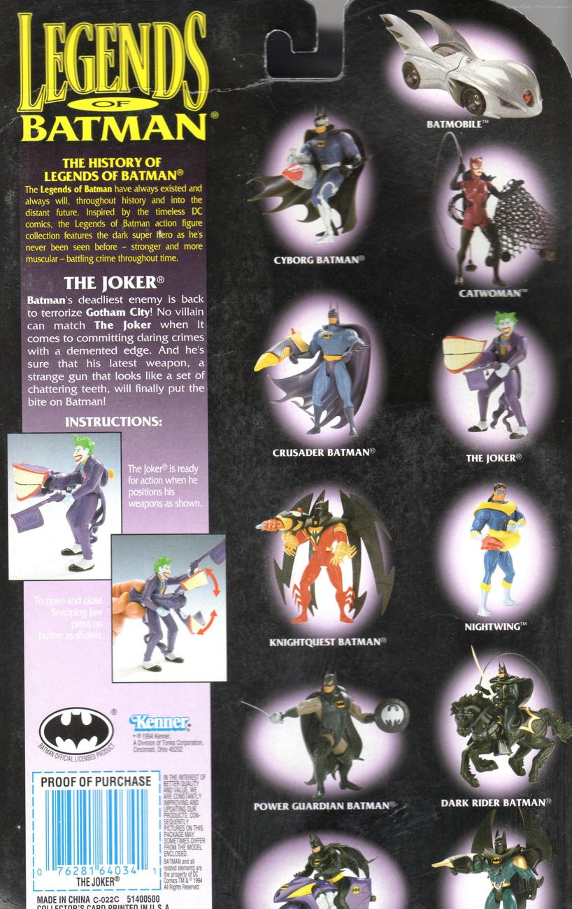 The Joker with Snapping Jaw ! - Legends of Batmen  DC Comics  The Joker