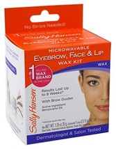 Sally Hansen Microwaveable Wax Kit For Eyebrow/Face/Lip 6 Pack image 1