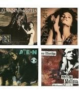 Lot of 4 CDs Alannah Myles Lee Aaron Melissa Etheridge - No Cases - $2.99