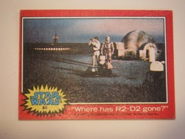 Star Wars Series 2 (Red) Topps 1977 Trading Card # 80 Where Has R2-D2 Gone - $1.49