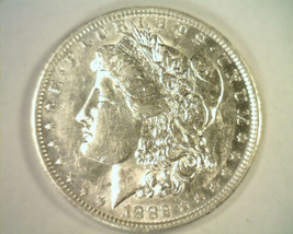 1882-O/S MORGAN SILVER DOLLAR TOP 100 VAM 4 O/S RECESSED ABOUT UNCIRCULA... - $115.00
