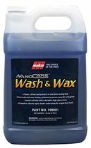Malco Nano Care Wash & Wax Ultra Concentrated Car Wash, 1 Gallon 198001