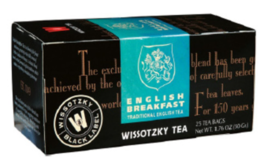 Wissotzky Tea - English Breakfast  -  25 Tea bags - $8.75