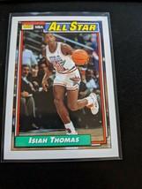 1992-93 Topps Basketball Pack Fresh Mint Isiah Thomas Detroit Pistons Al... - $7.99