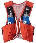 Salomon Unisex S/Lab Sense Ultra 8 Set Hydration Vest, Racing Red, X-Small - $191.01
