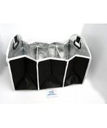 Insulated 3 Section Folding Auto Car Trunk Organizer, Shopping Cart Cadd... - $39.55