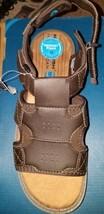 New Men's Nunn Bush Lites Brown Sandal Memory Foam Size 9M (Right Side O... - $16.69 CAD