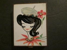 Vintage (60's) metal purse mini photo holder. - $10.00
