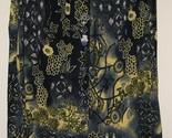 C.m.shapes women s long floral multicolored button skirt sz s   1  thumb155 crop