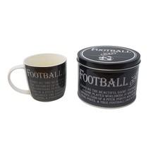 FOOTBALL GRANDAD FATHER SON DAUGHTER CHRISTMAS BIRTHDAY MUG CUP PRESENT ... - $24.71