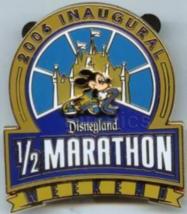 Disney Pin 49527 DLR 2006 Inaugural Half-Marathon Weekend Mickey Running LE - $59.35