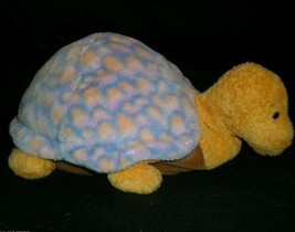Ty Pluffies Orange Purple Cruiser Turtle Stuffed Animal Plush Toy 2003 B EAN S - $11.30