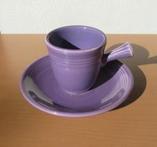 Fiesta Fiestaware Lilac Purple Demitasse Cup Saucer HLC Pottery Dinnerware - $124.97