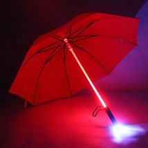 Innovative Modern LED Rain Umbrella Light Blade Runner Night Flash Flash... - $18.00