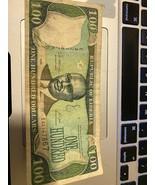2006  Central Bank, Liberia $100 One Hundred Dollar Bill - $74.25