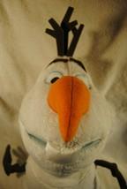 "Frozen OLAF Snowman Plush Toy Disney Store Large 20"" Christmas Stuffed Animal - $29.69"