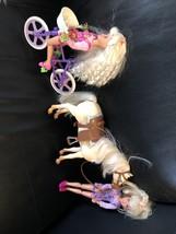 1996 Mattel Bicyclin Stacie, 1997 Blow Kisses Pony, 1995 Gymnast Stacie ... - $49.49
