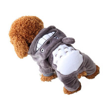 Yani HP-PC1 Pet Cat Dog Costume Soft Warm Clothes Cartoon Totoro Hoodie ... - $10.10