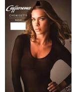 Transparent Shirt 100 % Nylon Black Second Skin Long Sleeves Basics - $22.46