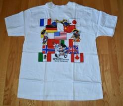 NWT 1982 VTG Walt Disney World Epcot World Showcase T Shirt Mickey 1982 USA XL - $128.70