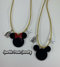 Mickey and Minnie Mouse Charm Necklace - $16.99+