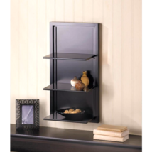 Black Folding Wall Shelf - $44.88