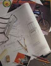 1988 Harley Davidson GENUINE Parts & Accessories Accessory Catalog Brochure - $14.83