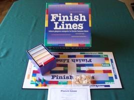 Unique Finish Lines game. 1999. VGC. Complete. - $9.29