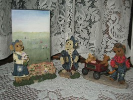 ~Boyds Bears & Friends~Bearstone Collection~Figurines~Figurine Picture F... - $14.88